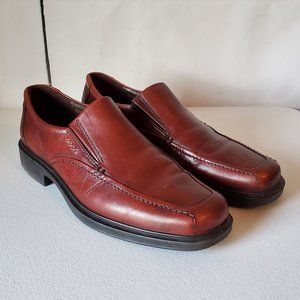 ECCO New Jersey Slip On Full Grain Leather Loafers